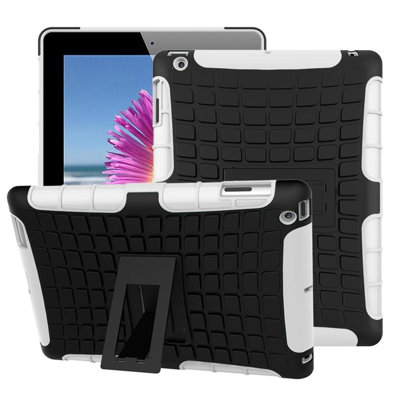 hybrid shockproof smart stand case for Apple iPad 2 3 4
