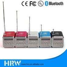 Cheapest Mutilfunction Speakers Gift Cube USB Speaker HRW-BH044