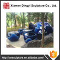 Garden sculpture water park package for theme park decoration