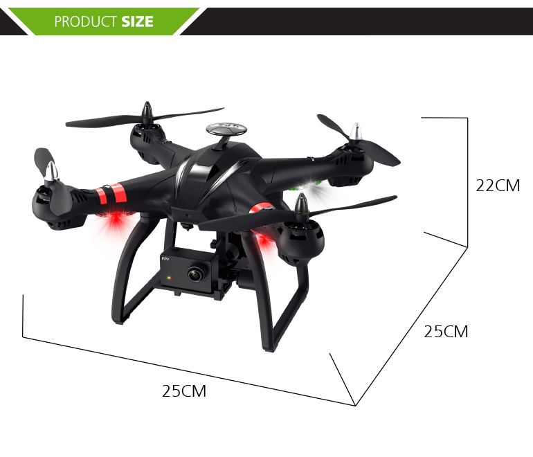 Fashion 2.4g remote controlled follow me GPS 1080P FPV wifi camera drone for kids