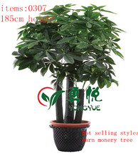 2014 hot selling SGS standard new design garden products exotic and tropical bonsai artificial plant and flowers----0307