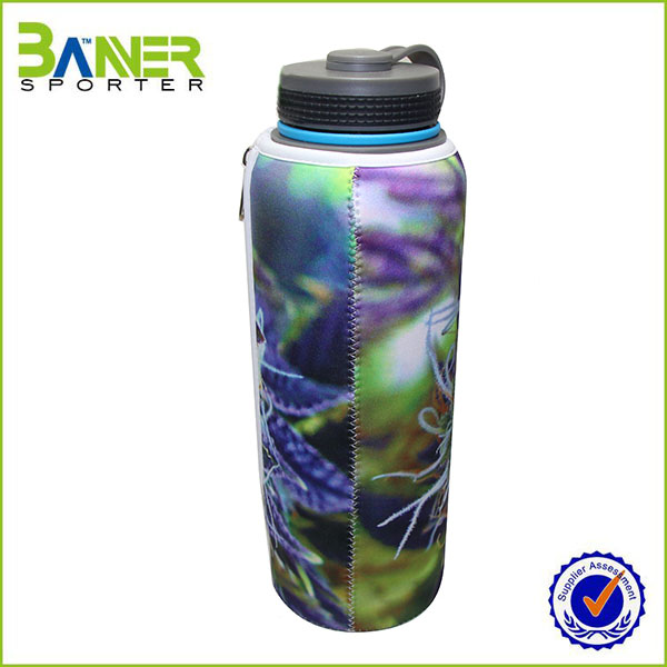 neoprene insulated recyclable beer bottle cover
