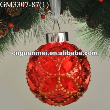 Trendy&innovative christmas ball decoration/gift with LED light