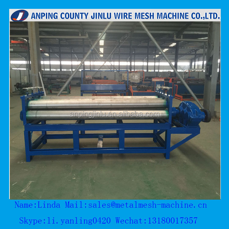 Automatic Expanded Metal Mesh Flatten Machine Price