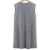 Fashion clothes women's fall formal sleeveless jacket for ladies