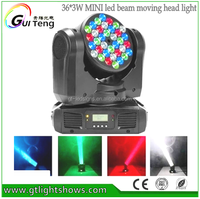 Professionals dj equipment 36*3w beam moving head light price