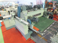 Peeling speed: 35m/min 4ft veneer peeling machine line