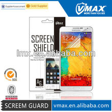 Anti-glare/high clear/tempered glass note 3 n9000 clear screen protector