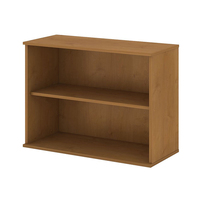Natural cherry wood bookcase furniture