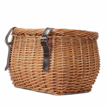2016 Large handmade wicker bicycle basket for storage
