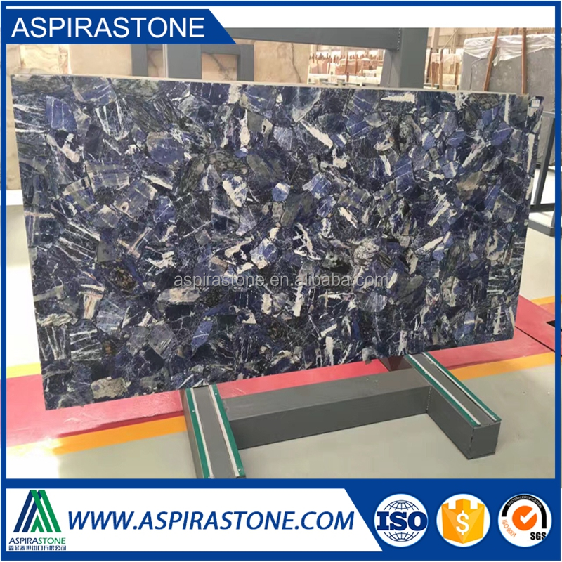 blue agate onyx slabs for semi precious stone marble floor tiles
