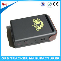 Cheaper mini gps tracker TK102 for personal/vehicle/pet with SOS Panic button