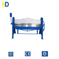 WS-1.5X2000 Hand Folding Machine For Metal Plate