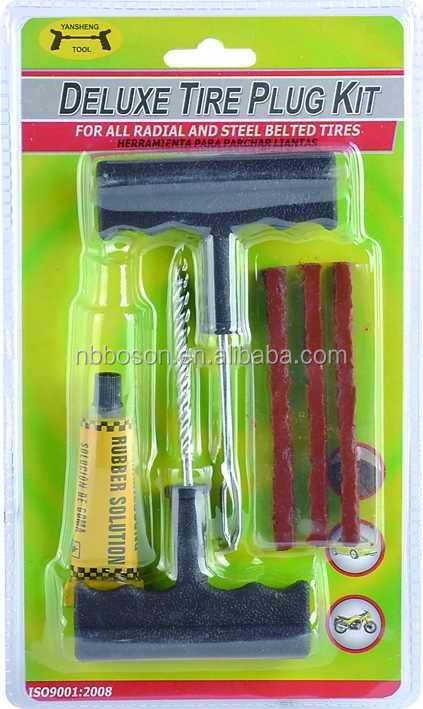 6pc combination tire tool/Repair tire/Tire patch fix tools