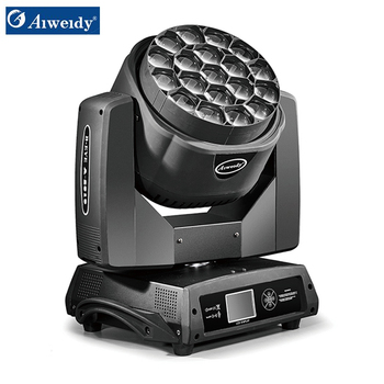 Clay paky 19x15w beam wash b bee eye k10 moving head led stage light