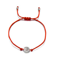 Life Tree Charm Bracelets for Women Men Children Lucky Red String Friendship Wish Bracelets Jewelry Gift Adjustable NS91167