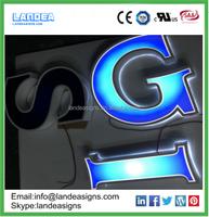 Good supplier illuminated advertising signs 3d letter