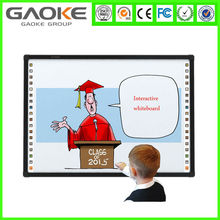 "82"" infrared technology smart finger touch whiteboard educational interactive whiteboard for school conference room"
