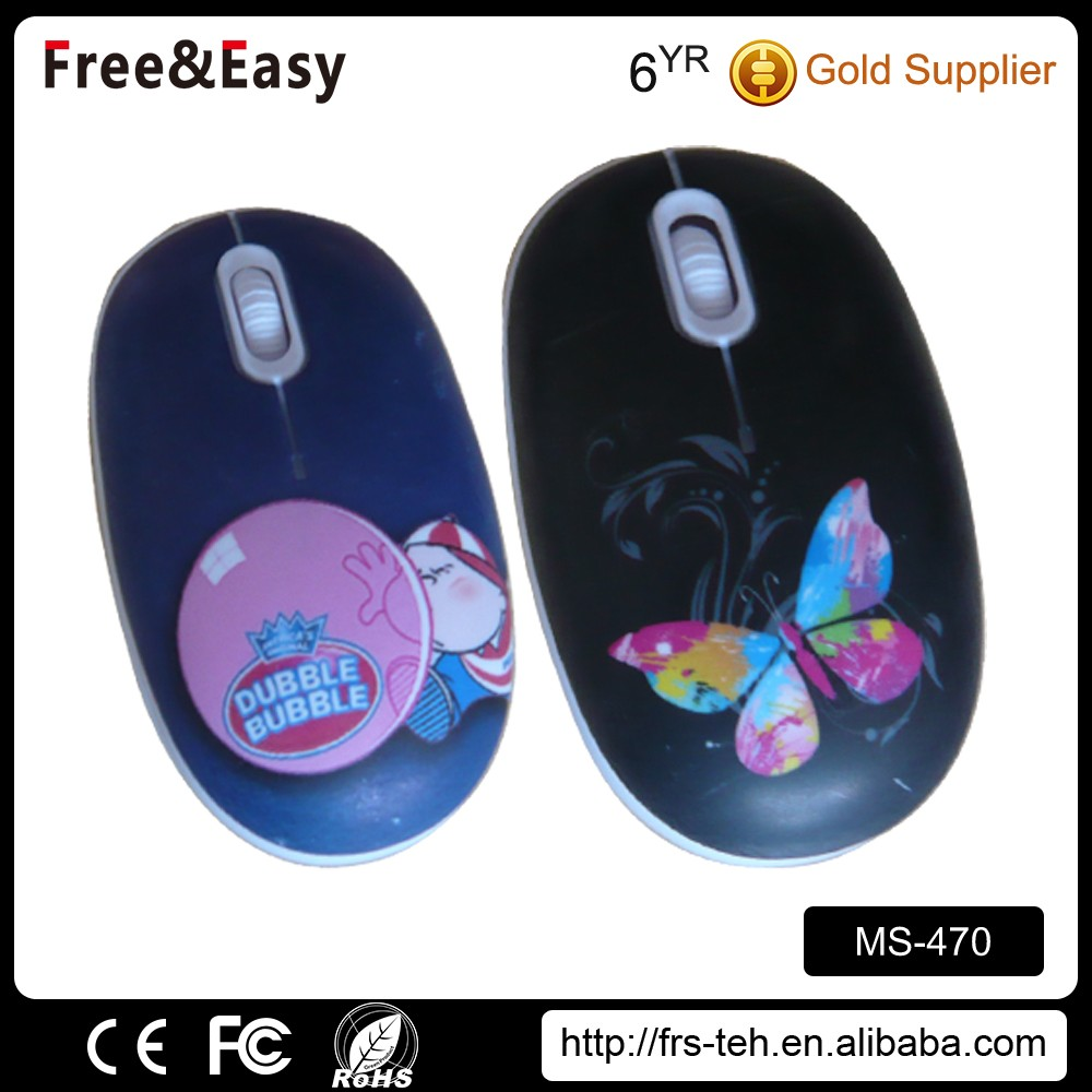 Hotsale children mini design funny 3d USB computer Cartoon cute gift mouse for kids