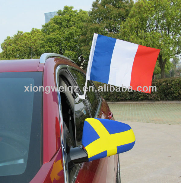 30*45cm France car flag all kinds of fans products