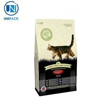 New design 2017 1kg 2kg 1lb 2lb packaging small cat food bag