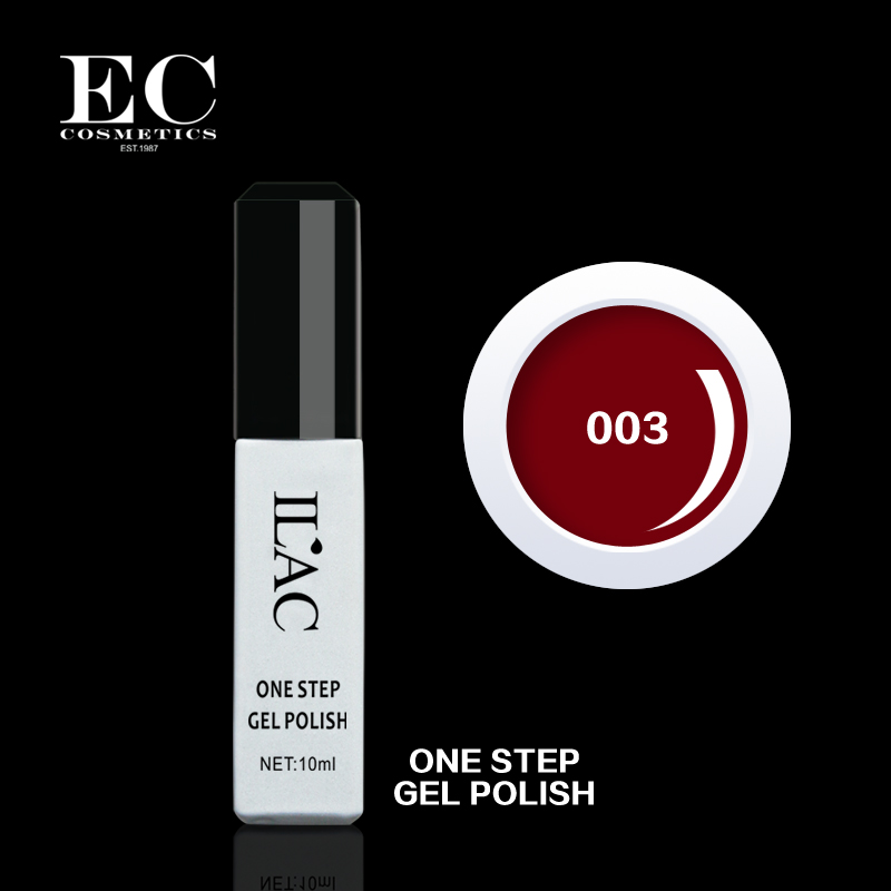 Vogue 3 in 1 gel polish No top coat, No base coat is needed and without greasy finish