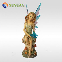 Wholesale Cheap Handmade Single Garden Fairy Statues