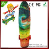 Wholesale China import can be customed plastic cruiser fish skateboard