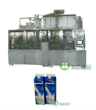 Gable Top Carton Milk production line