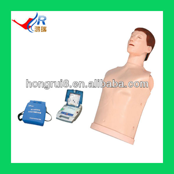 Advanced automatic CPR AED Trainer,medical simulation