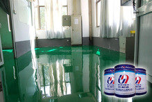 Epoxy anti-static self levelling floor paint