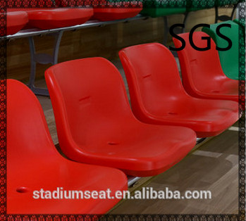 stadium plastic seat YZ-2618, hollow blow molding seat