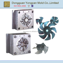 OEM high quality plastic injection of motor fan blades mould