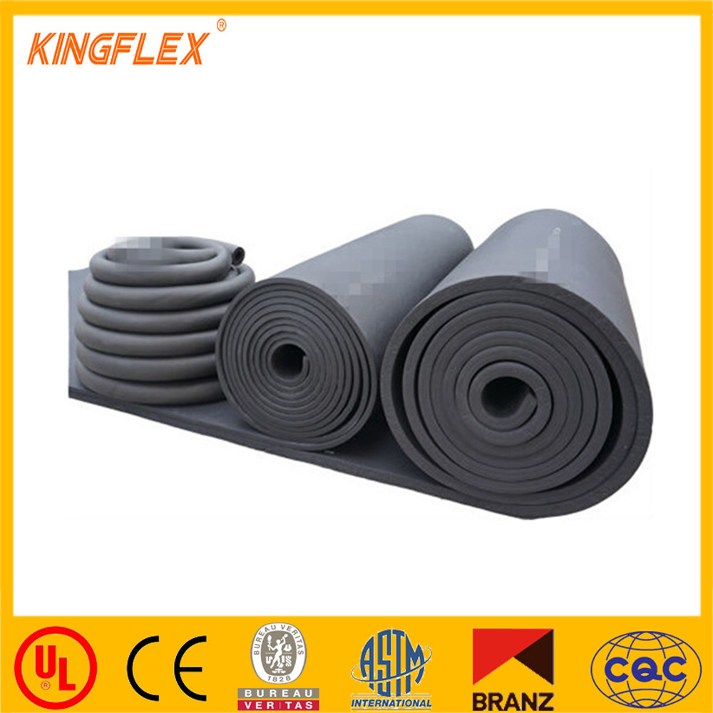 Central air conditioning heat preservation rubber plastic materials