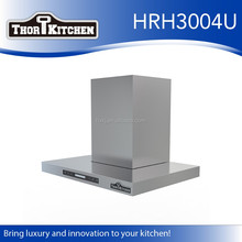 304/430ss kitchen extractor hood with stainless steel grease filter