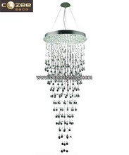 Stairwell Staircase Crystal Raindrop Pendant Hanging Chandeliers Lamp Light Lighting CZ8151/16