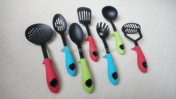 silicone nylon utensils sets
