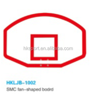 SMC fan-shaped backboard