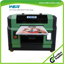 Hot selling high resolution A3 size WER-E2000UV water cycling cool system uv desk top printer