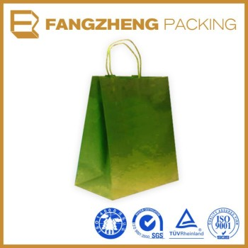 hot sale fashion color reusable shopping paper bag