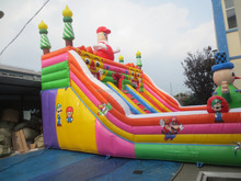 Hot sale new high quality inflatable fun city/combo/bouncer