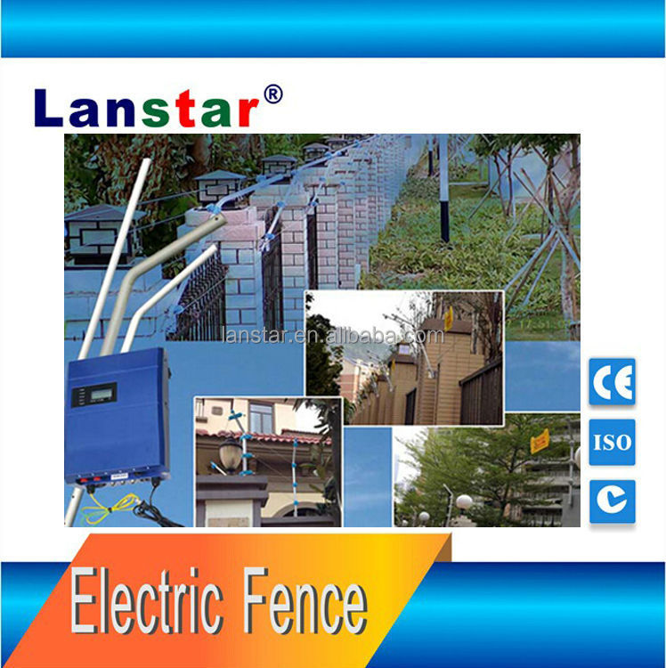 Pulse intelligent electric fence students guard school fence perimeter prevention solutions