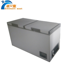 400L Ultra Low Temperature fish deep freezer for storage meat with parts