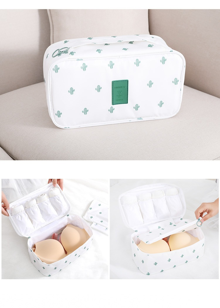 travel organizer kit underwear pouch waterproof cosmetic bra underwear