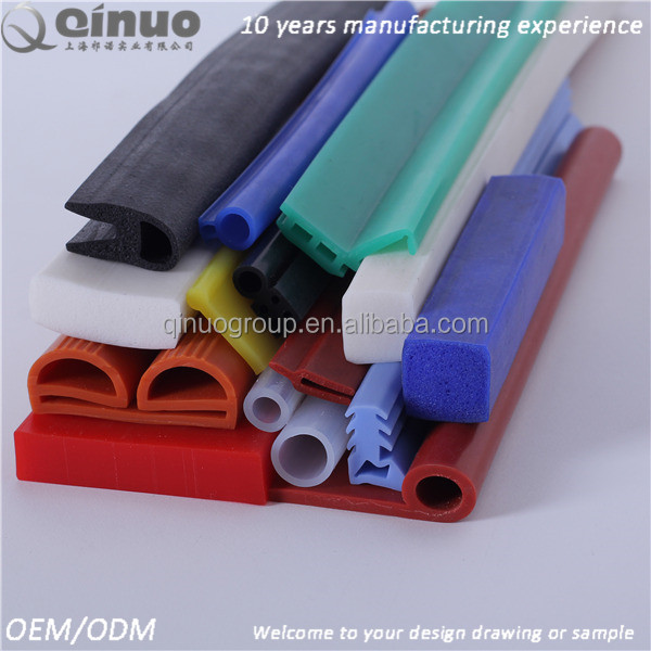 Wholesale EPDM/silicone/PVC rubber extrusion seal strip