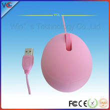 mini round mouse usb wired optical lovely mouse as gift with years export experience