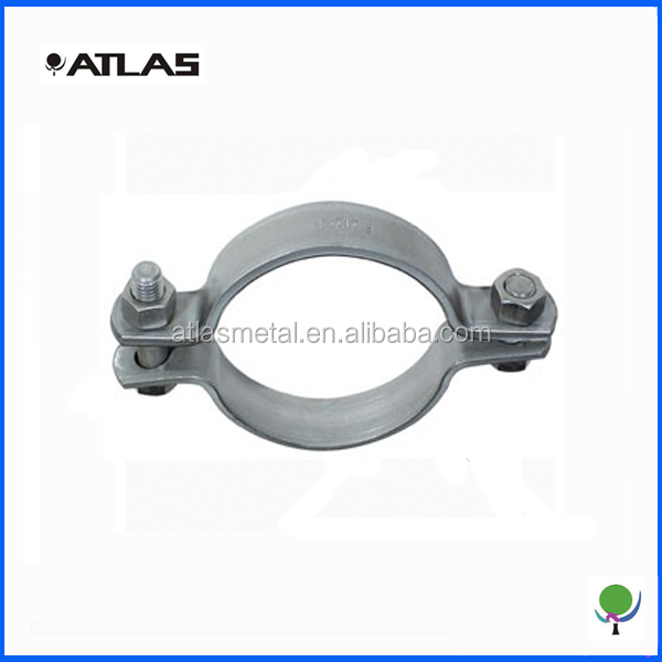 custom heavy duty metal tube clamps manufacturer, oem pipe fittings