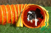 Pet dog tunnel, dog toy tunnel from China, good quality and reasonable dog play tunnel