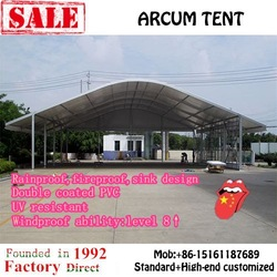 Luxury resort wedding party tent at factory price