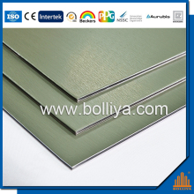 Rheinzink Titanium Zinc Composite Panel for facade cladding